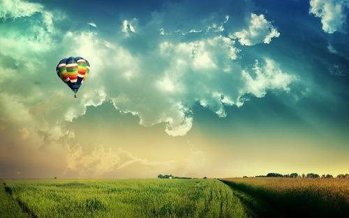 belon udara panas, hot air balloon