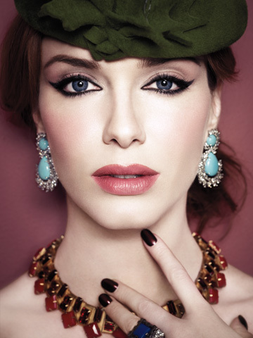 Christina Hendricks achtergrond entitled latimesmagazine