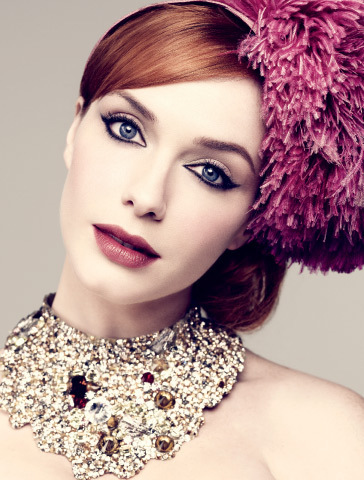 Christina Hendricks wallpaper titled latimesmagazine
