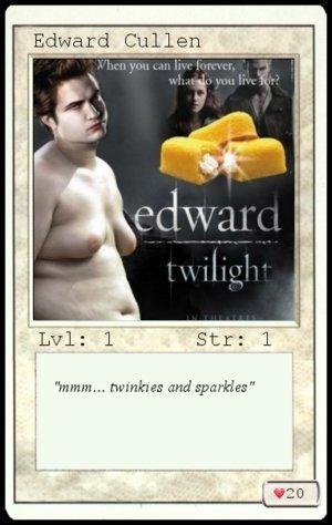 Harry Potter Vs. Twilight wallpaper called mmm... Twinkies