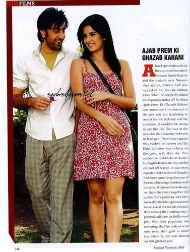 Ranbir Kapoor and Katrina Kaif wallpaper entitled rk