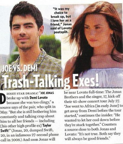 this is why joe broke-up with demi