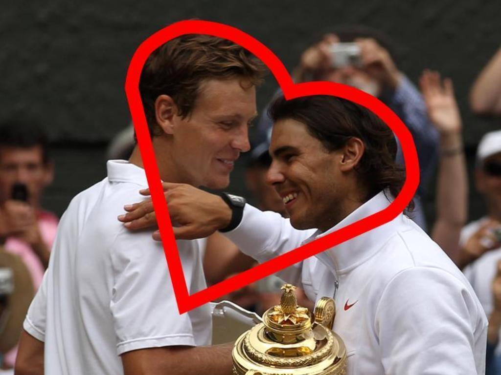 wimbledon love - Rafael Nadal Wallpaper (13868090) - Fanpop Rafael Nadal Wimbledon Wallpaper