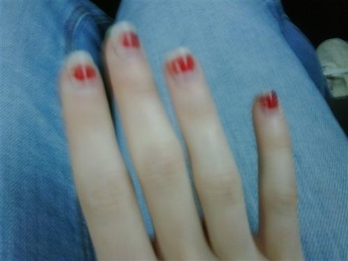 """Omg u guys, my nails are like so trashy."""