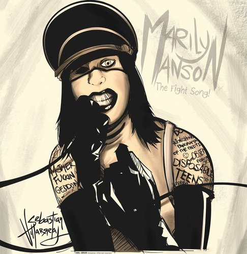 (S)AINT - marilyn-manson Photo