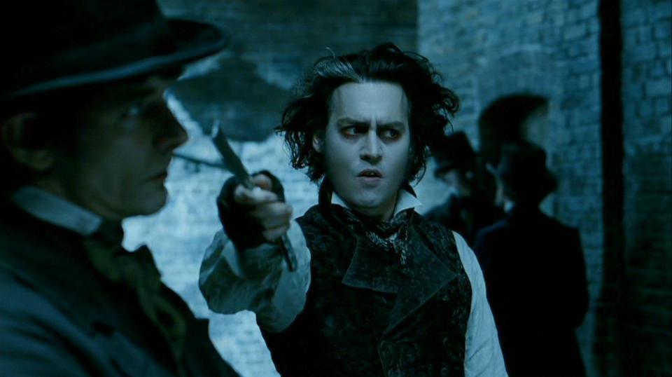 Sweeney Todd, The Demon Barber of Fleet Street Johnny Depp Image ...
