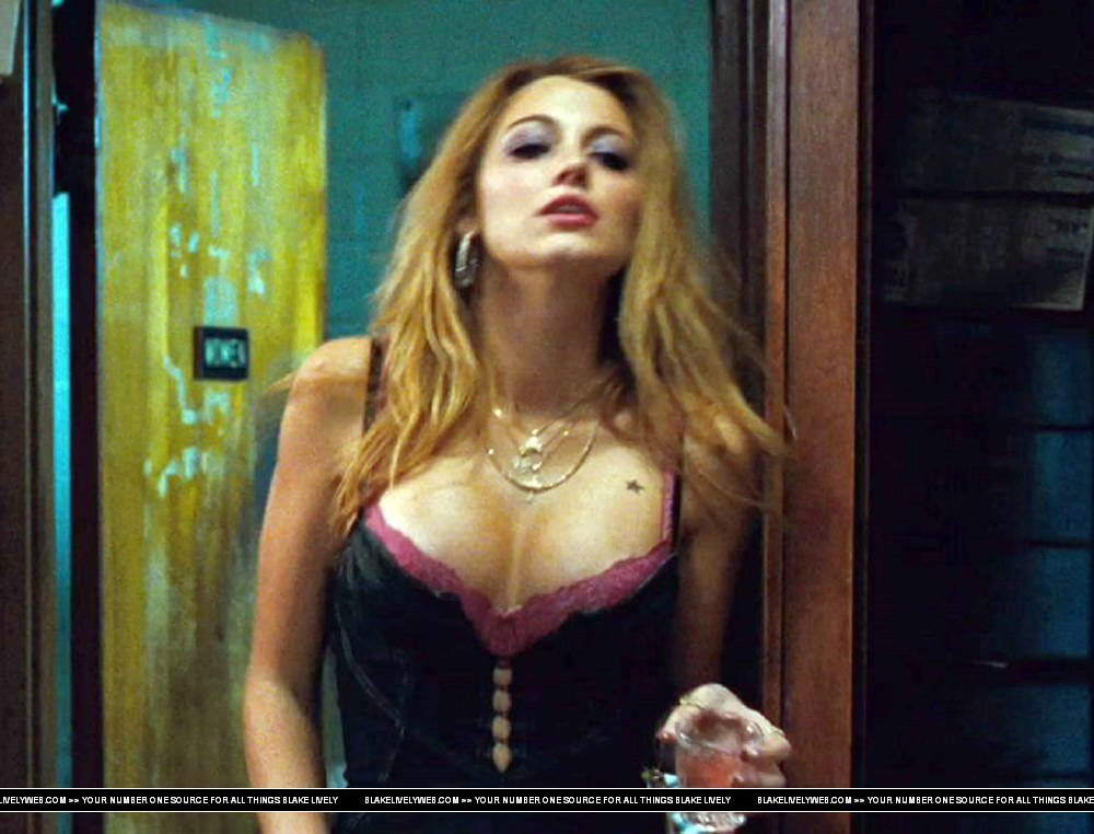 Blake lively sex scene the town