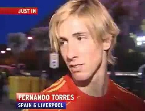 Fernando Torres 壁紙 called 2008 Torres Interview