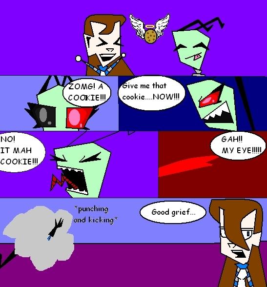 Invader Zim Fan Comics COMIC EVER
