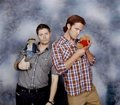 Behind the scenes - लोल pics - funny SPN