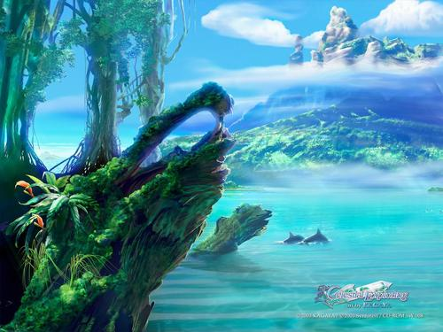 Best fantasy wallpapers of author Kagaya Yutaka