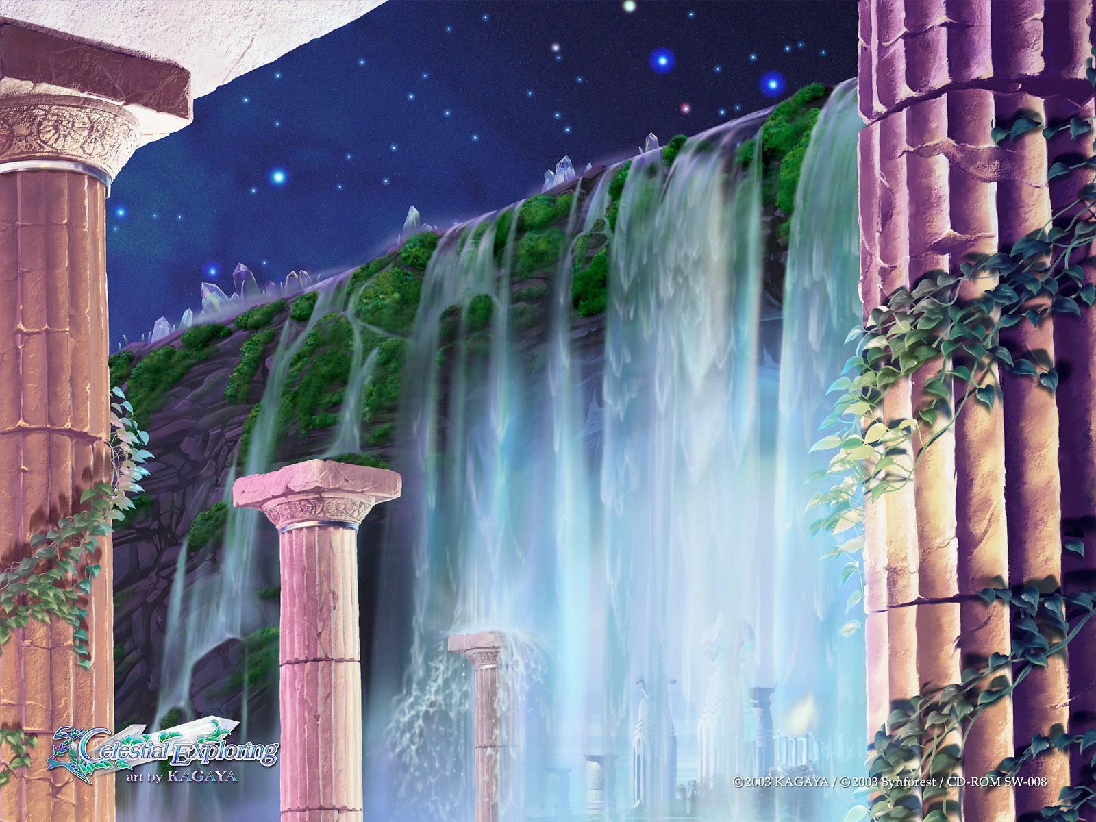Best fantasy wallpapers of author Kagaya Yutaka