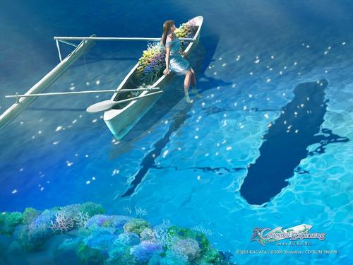 Best fantasy achtergronden of auteur Kagaya Yutaka