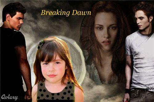 Breaking Dawn** Harmony as Renesmee