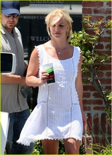 Britney out in Woodland Hills