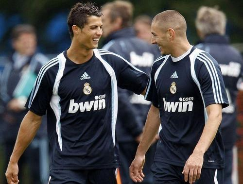 C.Ronaldo With Benzema