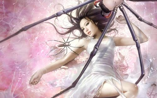 CG beautiful girl fond d'écran par I-Chen Lin Taiwan