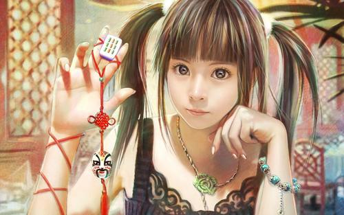 CG beautiful girl wallpaper by I-Chen Lin Taiwan