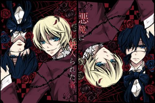Ciel and Alois