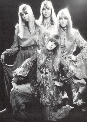 Cynthia Lennon, Maureen Starkey, Jenny Boyd, and Pattie