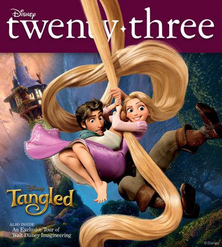 D23 Рапунцель - Запутанная история cover
