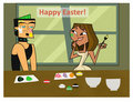 DXC happy easter! - total-drama-island fan art