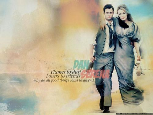 Gossip Girl wallpaper entitled Dan&Serena<3