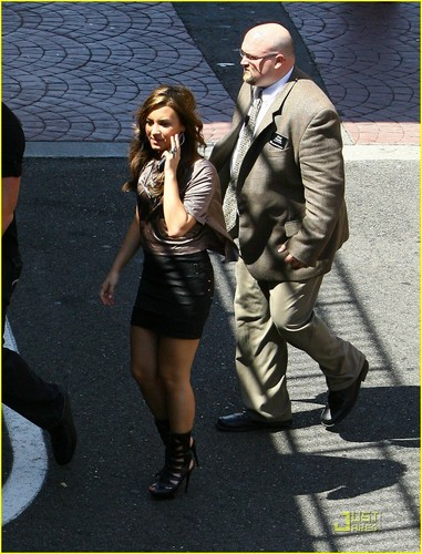 Demi out in Glendale