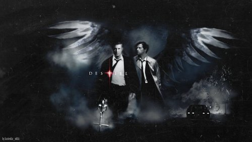 supernatural fondo de pantalla entitled Destiel