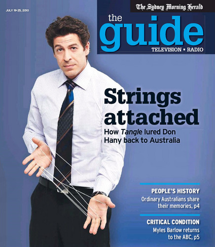 Don Hany on the cover of The Guide