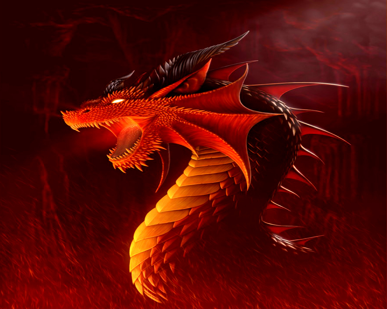 Dragon Wallpaper - Dragons Wallpaper (13975553) - Fanpop