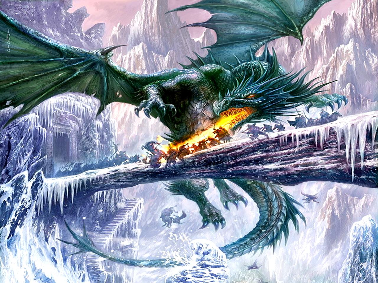 Dragon fondo de pantalla