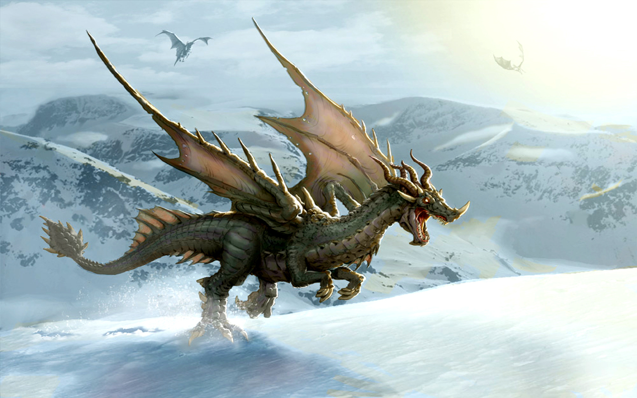 Dragons Dragon Wallpaper