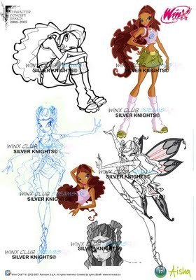 Early Layla/Aisha Sketches