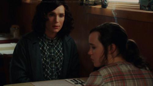 """Ellen Page wallpaper entitled Ellen and Cillian Murphy in """"Peacock"""""""