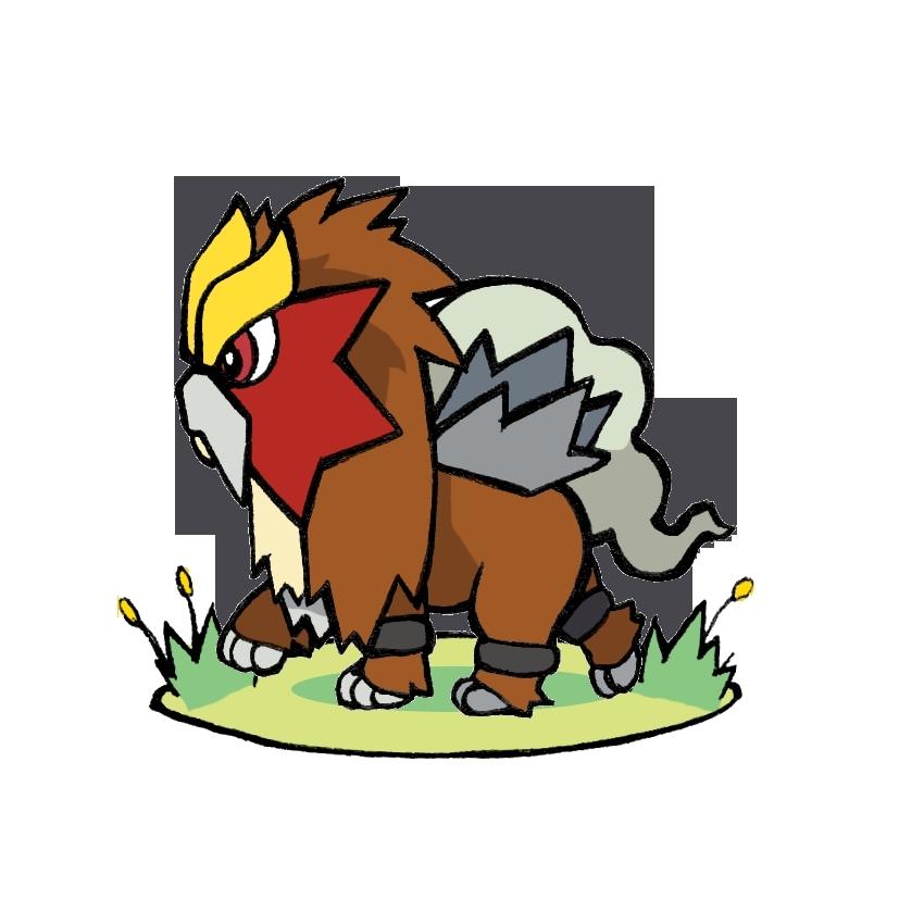 pokemon legendary dogs - 827×827