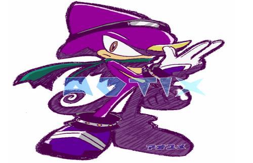 Espio In Sonic Riders