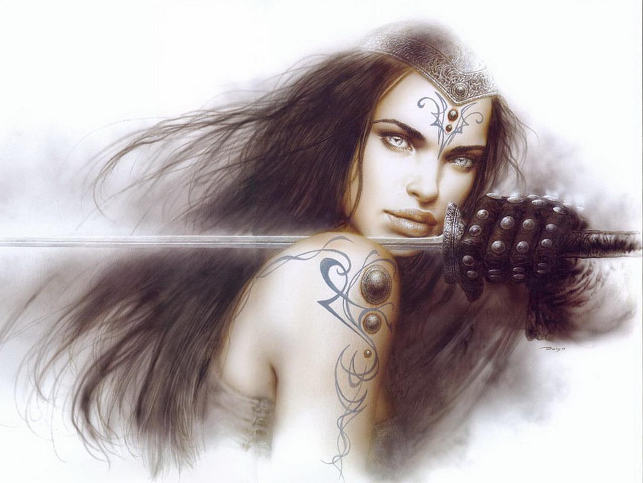 Fantasy Fantasy Art by Luis Royo