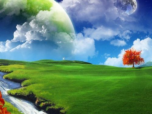 Fantasy Landscape achtergronden