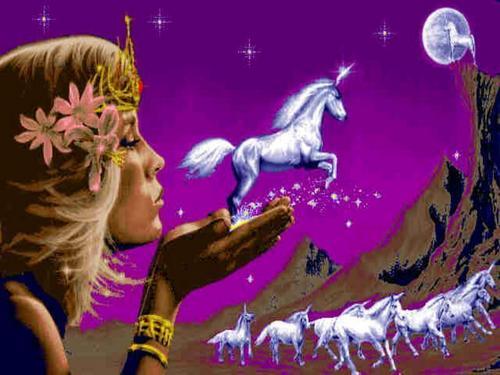 fantasía unicorn