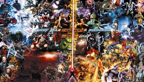 Final War / Marvel & DC Hintergrund 73 Charcaters