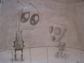 Gir saw a squirrel!!! - gir fan art