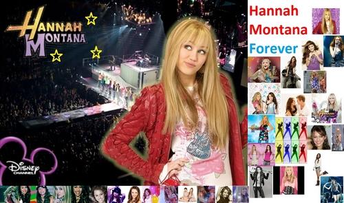 Disney Channel Girls wallpaper called Hannah Montana Forever