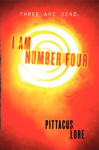 I AM NUMBER FOUR book cover!!