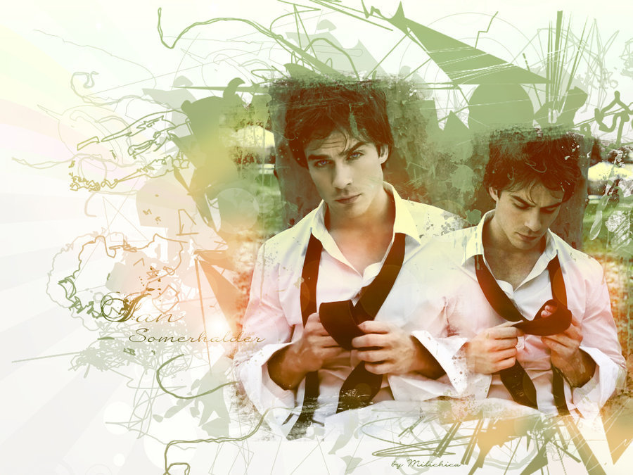 Ian Somerhalder - damon-salvatore wallpaper