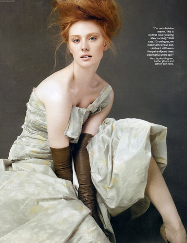 Deborah Ann Woll wallpaper titled Instyle (August 2010)