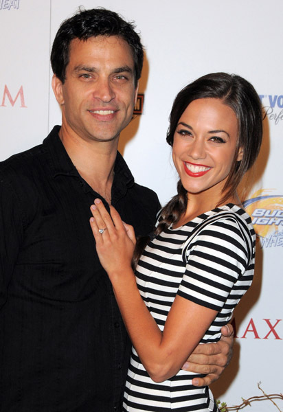 johnathon schaech images johnathon and his wife jana