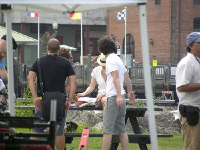 Joy on Set (July 20, 2010)