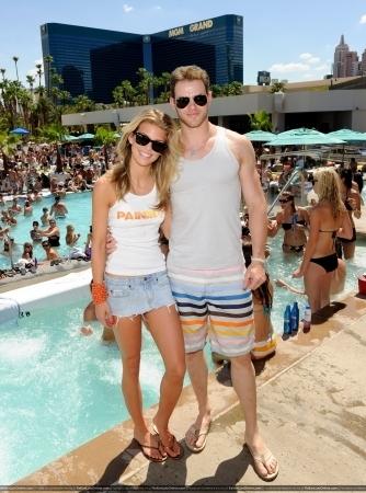 Kellan and AnnaLynne McCord Birthday Celebration - Las Vegas - 17 July 2010