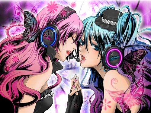Vocaloids wallpaper entitled Magnet